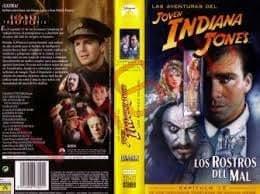 Las aventuras del joven Indiana Jones: Los rostros del mal [VHS]