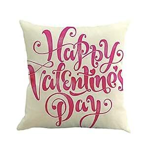 LEEDY Funda de cojín 2019 Día de San Valentín Novia Regalo ...