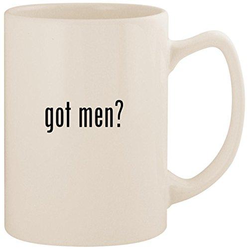 got men? - White 14oz Ceramic Statesman Coffee Mug ()