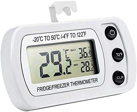 Compra MEETGG termómetro para congelador/Nevera, Resistente al ...