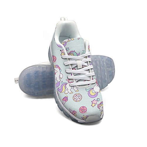 FAAERD Magical Unicorn Diamond Cream Heart Women's Breathable Mesh Walking Sneakers Air Cushion Sports Shoes Breathable Athletic Running Shoes buy cheap real best store to get for sale sale ebay 2014 newest online discount 2014 unisex q4LQvzXuwA