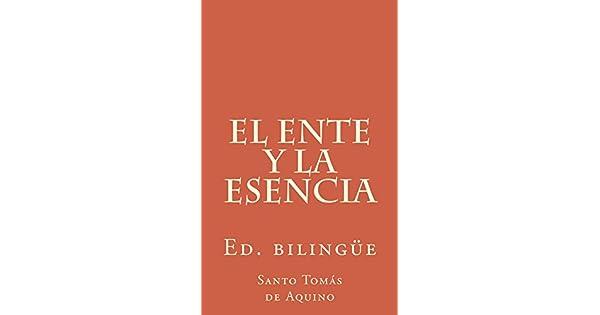El ente y la esencia eBook: Santo Tomás de Aquino, Emiliano Fernández Rueda: Amazon.com.mx: Tienda Kindle
