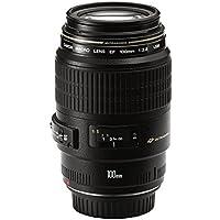 Canon EF 100mm f/2.8 Macro USMLens,Black(EF10028U)