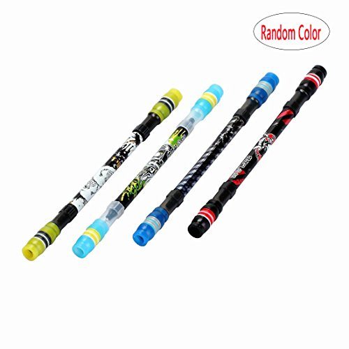 BinaryABC Back to School Supplies,Magic Spinning Pen ZG-5028 V.7.0 20CM Extra Long Body(Random Color)