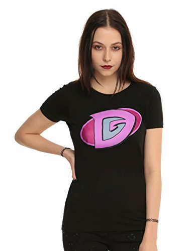 Electra Woman And Dyna Girl Her Universe Dyna Girl Logo Girls T-Shirt]()