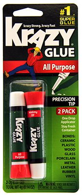 Instant  All Purpose Tube 2 Count - Krazy Glue KG517