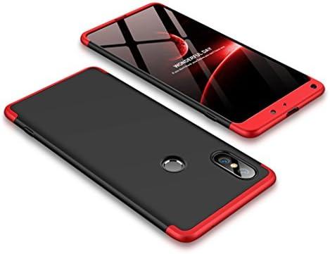 FaLiAng Funda XiaoMi Mi Mix 2S, 3 en 1 Desmontable Anti-Arañazos ...
