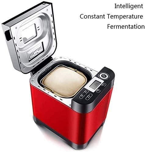 Huishoudelijke broodbakmachine, Intelligent Fast Breadmaker Volledig automatisch Touch 450W, LCD-scherm 18 Menu's, Tijd van de benoeming zhangxu