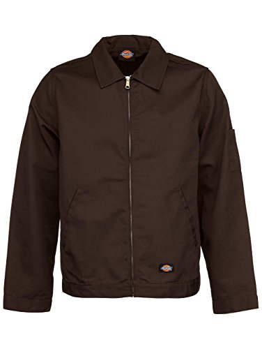 Dickies Tj15 Insulated Eisenhower Jacket-Dark Brown-S by Dickies