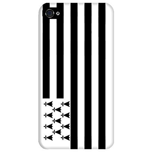 Coque Apple Iphone 4-4s - Gwenn ha Du