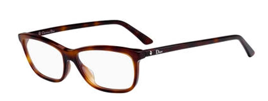 New Christian Dior Montaigne 56 0086 Dark Havana Eyeglasses