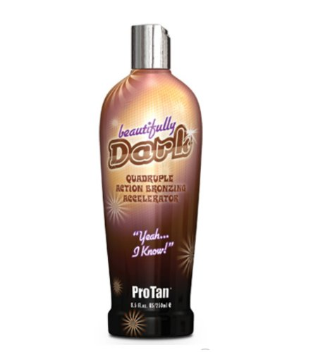 Bronzer Tanning Lotion (ProTan Pro Tan Beautifully Dark Bronzer Indoor Tanning Salon Bronzing Tan Lotion 8.5 fl oz 250mL e 8.5 Oz)