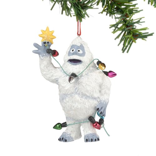 bumble abominable snowman christmas decoration by department 56 - Abominable Snowman Rudolph Christmas Decoration