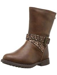 OshKosh B'Gosh Girls' Elsa Fashion Boot, Brown, 7 M US Toddler