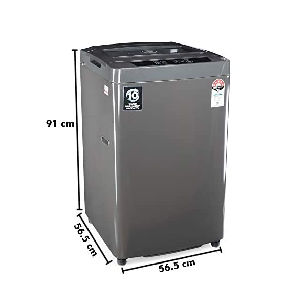 Godrej 6 Kg 5 Star Fully-Automatic Top Loading Washing Machine (WTEON 600 AD 5.0 ROGR, Grey) 2021 June Fully-automatic top load washing machine: Affordable with great wash quality, Easy to use Capacity 7.5 kg: suitable for medium size families Manufacturer warranty: 2 Year Warranty on Wash Motor and 10 year Warranty on product