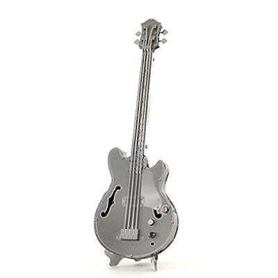 Metal Earth Fascinations Electric Bass Guitar 3D Metal Model Kit: Varios: Toys & Games [5Bkhe0201289]