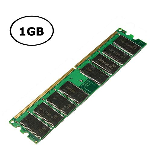 Non Ecc Ddr 266mhz Pc - SMALL-CHIPINC - 1GB DDR Memory for Ram 266MHz PC-2100 Non-ECC DIMM 184 Pins 2.5V Desktop Memory Chip System High Compatible
