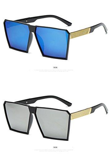 UV400 gafas sol de gafas Gafas sol Vintage nerd Matte retro nbsp;reflectantes y for sol para espejo diseño hombre polarizadas Retro Unisex Mode de alta renden Gafas de Espejo 4 calidad efecto mujer Rubber wftZaq