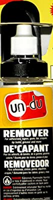 un-du 4 Ounce Sticker, Tape and Label Remover, Unbreakable Bottle from un-du Products