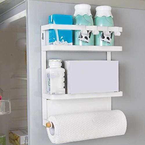 Jannyshop Kitchen Rack Magnetic Refrigerator Storage Organize by Jannyshop (Image #3)