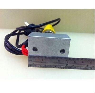 110V Manual Hot Foil LOGO Stamping Marking Machine Leather PVC Printer