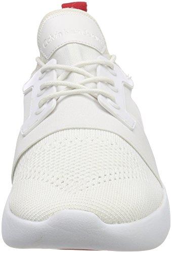 KnitSneakers Klein Blancwht Mel Calvin 000 Jeans Homme Basses 0wOnPNX8k