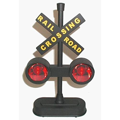 Hayes 15887 Railroad Train / Track Crossing Sign with Flashing Lights and Sounds  sc 1 st  Amazon.com & Train Lights: Amazon.com azcodes.com