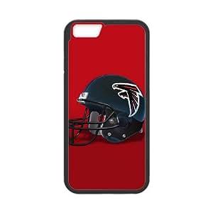 Atlanta Falcons Team Logo iPhone 6 Plus 5.5 Inch Cell Phone Case Black persent zhm004_8554918