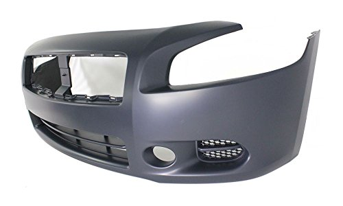 New Evan-Fischer EVA17872045549 Front BUMPER COVER Primed Direct Fit OE REPLACEMENT for 2009-2014 Nissan Maxima *Replaces Partslink NI1000258 (2012 Nissan Maxima Bumper Cover compare prices)