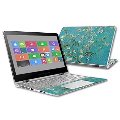MightySkins Skin Compatible with HP Spectre x360 2-in-1 13.3'' (2015) - Almond Blossom | Protective, Durable, and Unique Vinyl Decal wrap Cover | Easy to Apply, Remove | Made in The USA