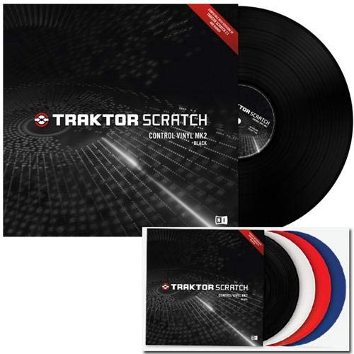 Native Instruments Traktor Scratch Control Vinyl MK2 - Black (Single Vinyl)