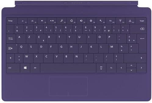 Microsoft Surface Type Cover 2 Teclado francés, color morado ...