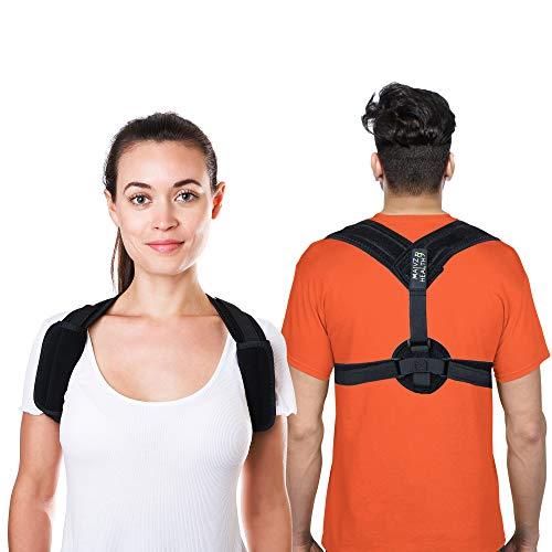Back Posture Corrector by Malvz Health for Men