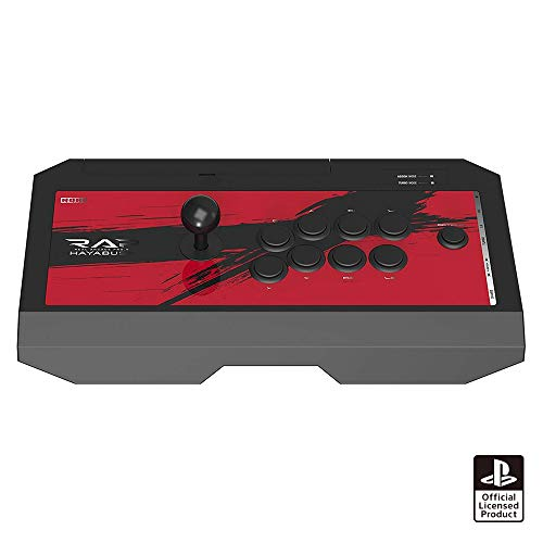 【PS4/PS3/PC対応】リアルアーケードPro.V HAYABUSA ヘッドセット端子付き for PS4 PS3 PC by Hori (Image #4)