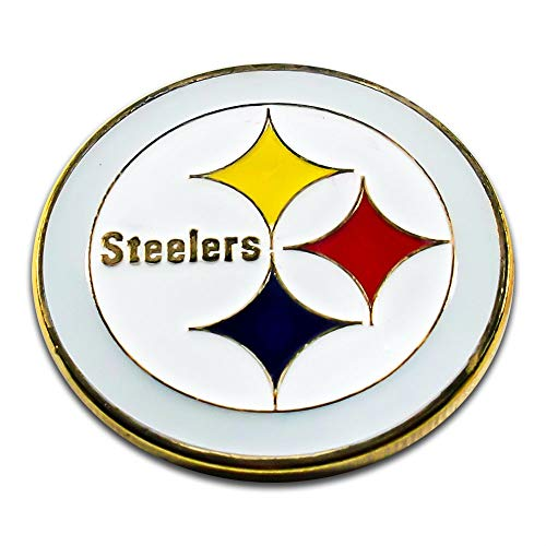 Art Crafter The USA NFL Pittsburgh Steelers Logos Coins Badge S034J ()