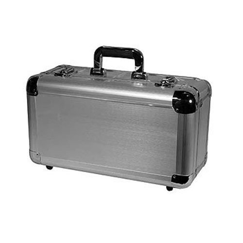 Odyssey KCD200SIL Silver Krom Case For 200 View Packs (Disc Silver Lined)