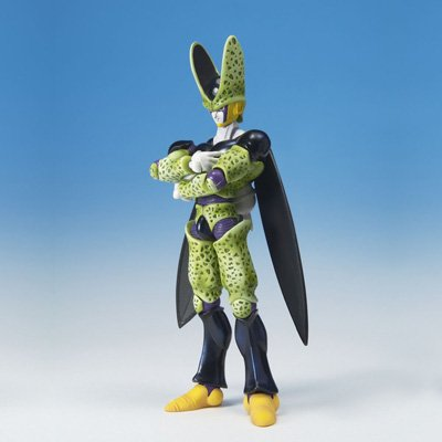 (Dragonball Z BanDai Hybrid Action Mega Articulated 4 Inch Action Figure Perfect Cell)