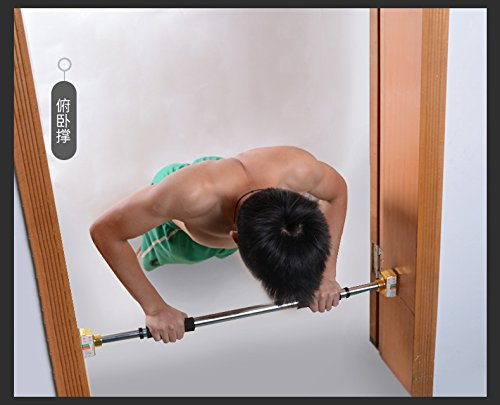 MAXSOINS Door On The Horizontal Bar Pull up Fitness Equipment, Household Indoor Wall Bar, Horizontal Bar, Parallel bars, No Need To Drill,Patent Design