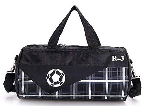 0bea98ee35 Image Unavailable. Image not available for. Color  CLHFJ Outdoor Women Men  Sports Gym Bag Professional Fitness Shoulder Fitness Bag Travel Handbag ...