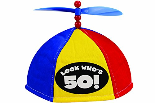 Four Seasons Look Who's 50 - Propeller Beanie (Item #54057) (Birthday Gifts For 30 Year Old Men)