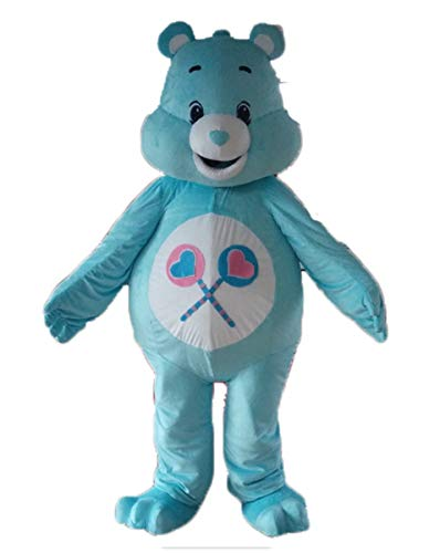 Care Bears Mascot Costume Adult Lovely Care Bear Suit for Event and Party Animal Mascots Deguisement]()