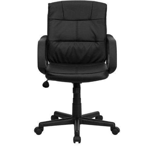 Flash Furniture U2013 Mid Back Leather Swivel Task Chair