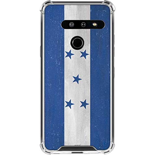 - Skinit Honduras Flag Distressed LG G8 ThinQ Clear Case - North American Flags Phone Case - Transparent LG G8 ThinQ Cover