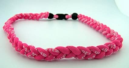 NEW Sporting Goods BASEBALL Titanium Tornado Sports Necklaces 20 Pink Black White SOFTBALL Equipment Care & Accessories