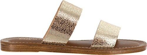 Bella Vita Femmes Imo-italie Diapositive Sandale Fissuré Or Cuir