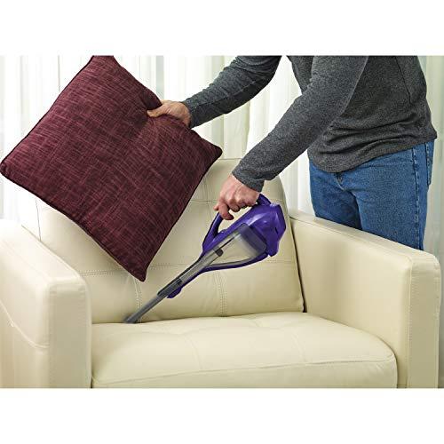 BLACK+DECKER HLVA325JP07 Lithium Pet Hand Vacuum, Purple, Pet Purple by BLACK+DECKER (Image #4)