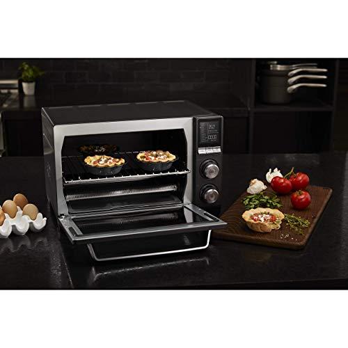 Calphalon Quartz Heat Countertop Toaster Oven, Dark Stainless Steel (Renewed) by Calphalon (Image #6)