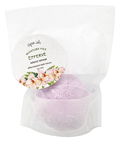 Spa...ah Bath Fizzies Efferve - Island Retreat (Tropical Flowers) - 5 oz by Spa...ah (Retreat Tropical)