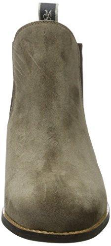 Bottes 70714165101304 Chelsea O'Polo Marc Femme Mid Heel Chelsea Marron Taupe vx4wB