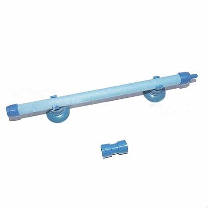 juxinuk 1pc Gas Outlet Tubo de oxígeno empalmado columna suave acuario pecera tubo de burbuja (